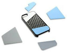 Quirky iPhone 5 5s Phone Case Cover Protector Customisable Panels Grey Slim UK