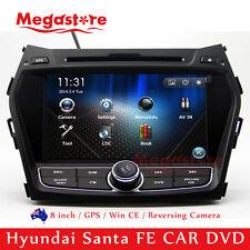 """8"""" Car DVD Player GPS Stereo Nav Radio For Hyundai Santa FE 2013-2016"""