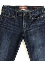 Womens Lucky Brand Sofia Boot Stretch Jeans Size 10/30 Regular Dark Blue Wash