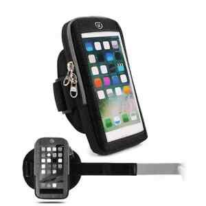 for LG LMX220N X Series X2 (2019) Waterproof Reflective Armband Case with Tou...