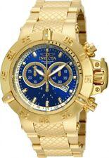14501 Invicta Subaqua Noma III Swiss Chronograph 18K High Polish Bracelet Watch