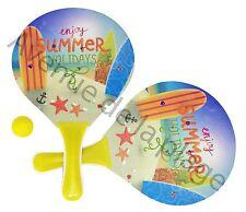 Raquettes de plage vacances d'été, beach ball, jeu de plage, jouet neuf