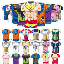 Men Dragon Ball Z Compression T-Shirt Goku Sports Cycing Jersey Tops Costume Tee