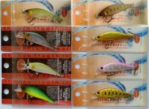 Lucky Craft Humpback Pointer Watch 50S Japan Wobbler, Bait, Trout, Predators