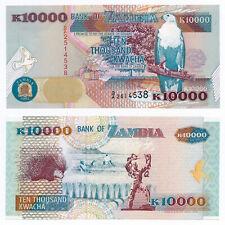 Zambia, 10000 Kwacha 1992, Pick 42a, UNC