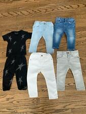 Lot of 6 Amazing Girls Items Lauren Moshi Oufit 6-12 Zara Jeans 12-18 Must Haves