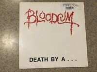 Bloodcum Death By A Clothes Hanger LP Record Original Factory Sealed Wild Rags