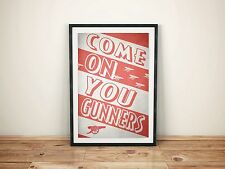 Arsenal FC A3 Picture Art Poster Retro Style Print AFC