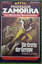 Professor Zamorra Nr. 27, Erstdruck, Die Grotte der Gerippe, Zustand: 1-