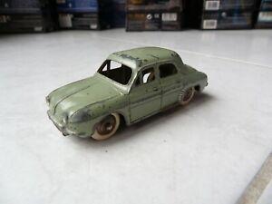 Renault Dauphine 24E verte Dinky Toys Meccano 1/43 jouet ancien original