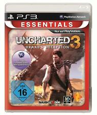 Uncharted 3 - Drakes engaño (Essentials) PS3 Playstation 3 NUEVO + Embalaje