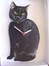 Orologio da Parete Gatto Nero. NUOVI E CONFEZIONATI