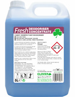 Anti bacterial Disinfectant Clover Fresh Candy Concentrate Surface Cleaner 5L