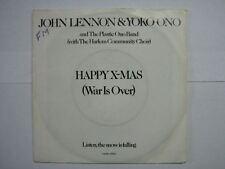 JOHN LENNON 45 TOURS HOLLANDE HAPPY X-MAS 1