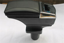 1xABS plastic and PU leather armrest console box for Chevrolet Aveo 2011 - 2014