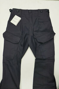 "Royal Navy Issue BLUE PCS Combat Trousers - 80/88/104  (34"" Waist) NEW IN BAG"