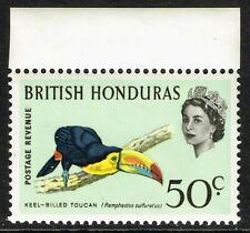 SG 245 BRITISH HONDURAS 1967 - 50c MULTICOLOURED - UNMOUNTED MINT