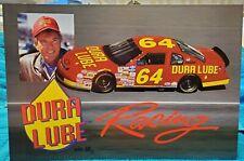 "Dick Trickle NASCAR BGN Dura Lube postcard car #64  6X9"""
