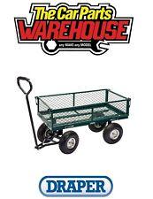 Draper 58552 Steel Mesh Gardeners Wheelbarrow Cart Trolley Trailer Heavy Duty ⭐️