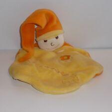 Doudou Lutin Cmp - un Rêve de Bébé - Jaune Orange