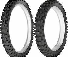 New Dunlop 80/100-21 & 120/90-19 D952 Off-Road MX Intermediate Terrain Tire Set