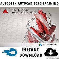Autodesk AutoCAD 2015 – Professional Video Training Tutorial - Instant Download