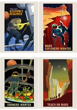 NASA Poster Espace exploration Job annonce Pack X 8 affiches Art Prints HP3843