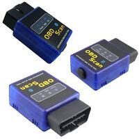 ELM327 V2.1 OBD2 II Bluetooth Diagnostic Car Auto Interface Scanner Tool Blue