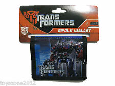 "Transformers Bi-Fold Wallet 4.5"" x 3.5"" BRAND NEW WITH TAGS"