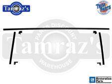 64-65 Chevelle Hardtop Rear Window Interior Headliner Windlace Plastic Trim 7pcs
