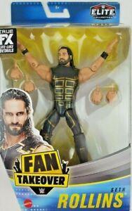 Seth Rollins WWE Elite Fan Takeover Exclusive Mattel Toy Wrestling Action Figure