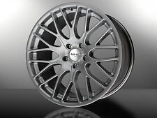 Concave 8,5x19 Zoll Alufelgen BMW X5 Typ X70  20 21 22 Silber Silver 23