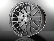 22 Zoll Alufelgen Felgen Audi VW Mercedes BMW Porsche Range Rover Silver 112