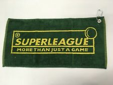 Serviette joueur billard SUPERLEAGUE 8 pool noire new ***