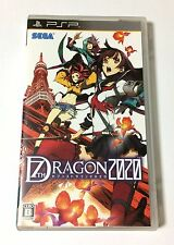 USED PSP 7th Dragon 2020 JAPAN Sony PlayStation Portable Japanese game seventh