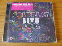 CD Double: Coldplay : Live 2012 CD & DVD : Featuring Rihanna Sealed