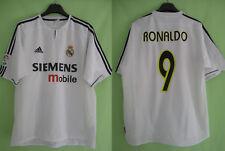 Maillot Vintage Real Madrid Ronaldo Siemens Adidas jersey Football - L