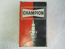 NEW OLD STOCK Champion Spark Plugs - Pack of 10 SEALED! - J-60R - Toledo, Ohio