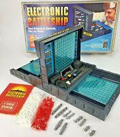 Vintage 1982 Electronic Battleship Milton Bradley Tested & Working Complete 4750