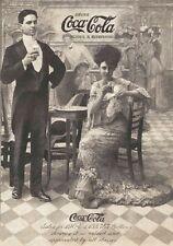 "TARGA VINTAGE ""COCA COLA 1905"" PUBBLICITA',DRINK ADVERTISING,POSTER, RETRO PLATE"