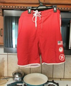 Hurley US Olympic Team Beach Volleyball Limited edition board shorts Men's 31