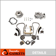 Timing Chain for Oil & Water Pump Fit 07-16 Cadillac Buick Pontiac Suzuki 3.6