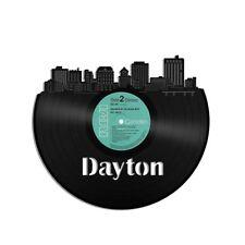 Dayton Vinyl Wall Art City Skyline Vintage Anniversary Home Bedroom Office Decor