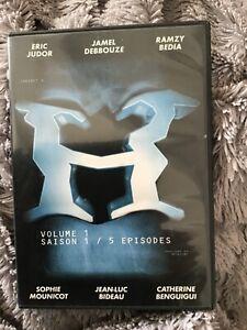 DVD H : Volume 1, Saison 1 - 5 épisodes  rayures  Jamel Debbouze   Serie TV