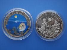 Palau 1 $farbmünze 1994 ´´ independencia ´´ Independence October 1994