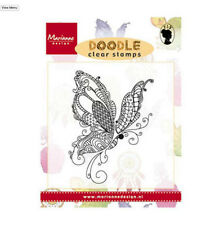 Marianne Design Clear Rubber DOODLE Stamp BUTTERFLY EWS2216