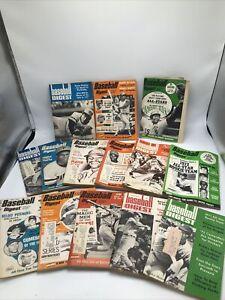 baseball digest 1971, 1972, & 1973 lot of 14