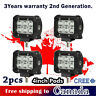 4x 18W 4 inch CREE LED Light Bar Work Offroad Truck Boat Driving Jeep Ford SUV 3