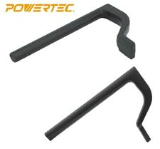 """Powertec 8"""" Workbench Holdfast Woodworking Clamps - Set of 2 (71528)"""