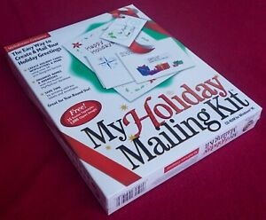My Holiday Mailing Kit - MySoftware Company - Windows 95 - Sealed Box!
